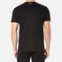 BOSS Green Men's Tee 8 Raised Print T-Shirt - Black: Image 3