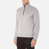 BOSS Green Men's Quarter Zip Sweatshirt - Grey: Image 2