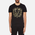 Versace Jeans Men's Embroidered T-Shirt - Black: Image 1