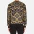 Versace Jeans Men's All Over Print Sweatshirt - Black: Image 3