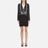 Versus Versace Women's Print Shirt Dress - Black/White: Image 1