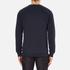 J.Lindeberg Men's Chad Pattern Sweatshirt - Blue: Image 3