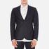 J.Lindeberg Men's Hopper Silk Tweed Jacket - Blue: Image 1