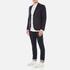 J.Lindeberg Men's Hopper Silk Tweed Jacket - Blue: Image 4
