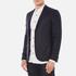 J.Lindeberg Men's Hopper Silk Tweed Jacket - Blue: Image 2