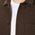 A Kind of Guise Men's Yak Wool Teheran Jacket - Chocolate: Image 6