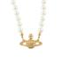 Vivienne Westwood Jewellery Women's Mini Bas Relief Choker - Light Colorado Topaz: Image 1
