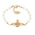 Vivienne Westwood Jewellery Women's Mini Bas Relief Bracelet - Light Colorado Topaz: Image 1