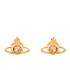 Vivienne Westwood Jewellery Women's Nano Solitaire Earrings - Light Topaz: Image 1