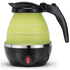 Gourmet Gadgetry Collapsible Travel Kettle - Green/Black - 0.8L: Image 1