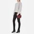 Aspinal of London Women's Portobello Mini Saddle Bag - Bordeaux: Image 2