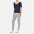T by Alexander Wang Women's Classic Cropped T-Shirt with Chest Pocket - Marine: Image 4