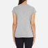PS by Paul Smith Women's Neon Heart T-Shirt - Grey: Image 3