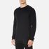 BOSS Orange Men's Wheel Crew Neck Sweatshirt - Black: Image 2