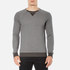 BOSS Orange Men's Warys Crew Neck Sweatshirt - Grey: Image 1