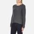 Vero Moda Women's Lex Long Sleeve Jumper - Asphalt: Image 2