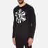 Versus Versace Men's Large Logo Long Sleeve T-Shirt - Black: Image 2