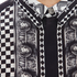 Versus Versace Men's Printed Long Sleeve Shirt - Black/White: Image 5