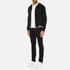 Versus Versace Men's Welt Detail Hoody - Black: Image 4