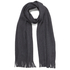 BOSS Green C-Albas Scarf - Charcoal: Image 1