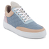 Filling Pieces Women's Quilted Low Top Trainers - Moon Pink/Blue: Image 2