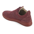 Filling Pieces Men's Monotone Stripe Low Top Trainers - Maroon: Image 4