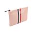 Clare V. Women's Margot Flat Clutch Bag - Blush Navy Cream/Red Stripes: Image 3