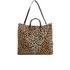 Clare V. Women's Simple V Tote Bag - Leopard: Image 1