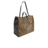 Clare V. Women's Simple V Tote Bag - Leopard: Image 3