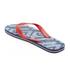 Smith & Jones Men's Amplitude Swim Shorts & Flip Flops - Rift Red: Image 7