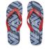 Smith & Jones Men's Amplitude Swim Shorts & Flip Flops - Rift Red: Image 4