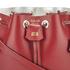 SALAR Women's Tala Small Bucket Bag - Bordeaux: Image 3