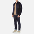 GANT Rugger Men's Woolly Bomber Jacket - Navy: Image 4
