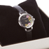 Olivia Burton Women's Flower Show Mini Dial Watch - Black Silver: Image 3