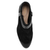 Clarks Women's Breccan Shine Suede Heeled Ankle Boots - Black: Image 3