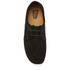 Clarks Originals Men's Weaver Shoes - Black Suede: Image 3