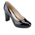 Clarks Women's Kendra Sienna Patent Platform Court Shoes - Black: Image 2