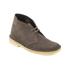 Clarks Originals Women's Desert Boots - Dark Taupe Suede: Image 2