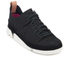 Clarks Originals Women's Trigenic Flex Shoes - Black Nubuck: Image 2