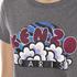KENZO Women's KENZO Logo Popcorn T-Shirt - Stone Grey: Image 5