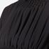 KENZO Women's Crepe Back Satin Maxi Dress - Black: Image 4