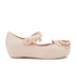 Mini Melissa Toddlers' Ultragirl Owl Ballet Flats - Baby Pink: Image 1