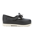 Mini Melissa Toddlers' Classic Bow Flats - Black: Image 1