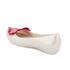Mini Melissa Vivienne Westwood Kids' Ultragirl Cherub Ballet Flats - Pearl Red: Image 4