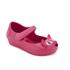 Mini Melissa Toddlers' Ultragirl Kitty 16 Ballet Flats - Bright Pink: Image 2