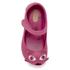 Mini Melissa Toddlers' Ultragirl Kitty 16 Ballet Flats - Bright Pink: Image 3