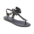 Melissa Women's Solar Bow Sandals - Black: Image 2