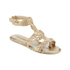 Melissa Women's Campana Barocca 16 Sandals - Gold: Image 2