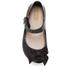 Mini Melissa Toddlers' Ultragirl Silk Bow Ballet Flats - Black: Image 3