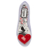 Melissa Women's Alice Ultragirl Ballet Flats - Clear Heart: Image 3